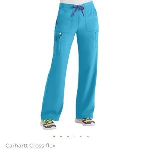 Carhartt boot cut long scrub pants